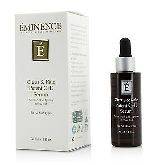 Paremmuus Citrus & Kale voimakas C + E-seerumi - kaikki iho tyypit 30ml / 1oz