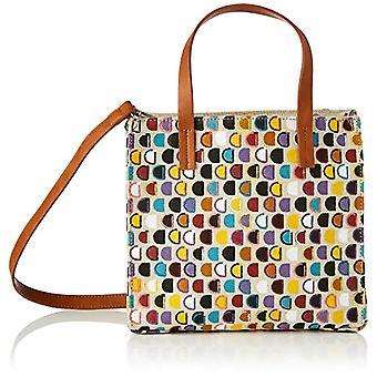Desigual FABRIC SHOPPING BAG, Dames Shoppering Bag, Wit, U(3)