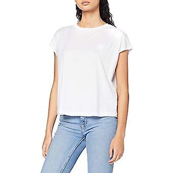 G-STAR RAW Konstruerad Topp Lös T-Shirt, Vit 336-110, L Kvinna