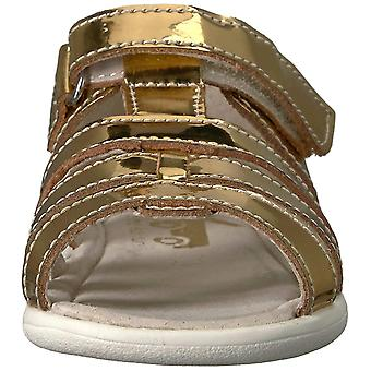 See Kai Run Baby Girl Fe Leather  Sandals