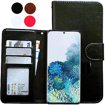 Samsung Galaxy S20 Fe - Leather Case / Cover