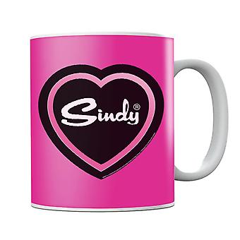 Sindy Pink Love Heart Mug