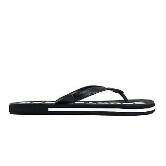 4F KLM006 H4L21KLM006CZARNY vand sommer mænd sko