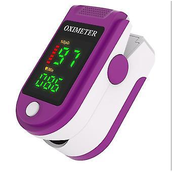 الأرجواني نبض رقمي oximeter إصبع مقطع معدل ضربات القلب رصد az4698