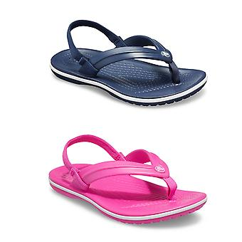 Unisex Kids Crocs Crocband Strap Flip Kesäloma Slip-on Sandaalit