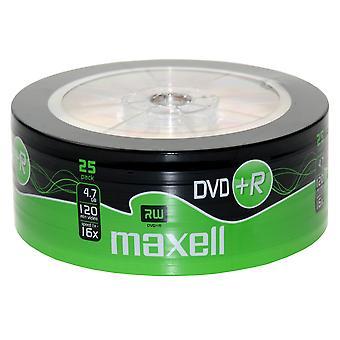 Maxell DVD+R 25 balenie zmršťovacie zábal