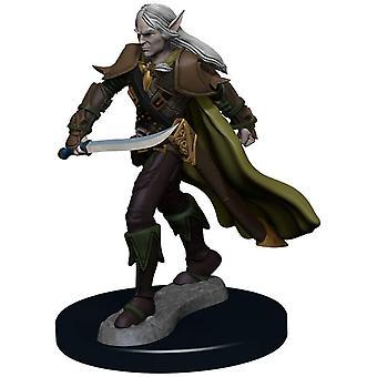 Pathfinder Battles - Combattente degli Elfi Maschile Figura pre-dipinta
