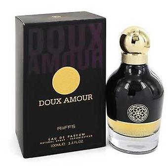 Doux Amour By Riiffs Eau De Parfum Spray 3.4 Oz (men) V728-549277