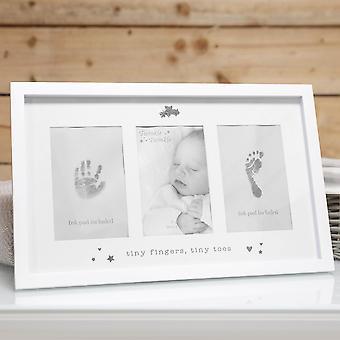 Twinkle Twinkle Baby's Hand &Foot Print Photo Frame