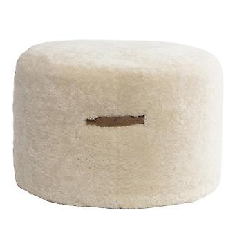 Shepherd Australian Short Hair Sheepskin Pouf