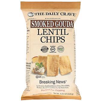 Päivittäinen crave chip linssi smkd Gouda, tapaus 8 X 4.25 Oz