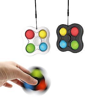 2 pcs Kit Fingertip Spinner Bubble Pop It Toys Fidget Toys Antistress Sensory Fidget Toys Stress