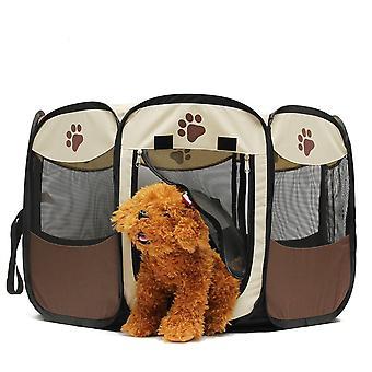 Pet hund kat kravlegård telt bærbare motion hegn kennel bur kasse