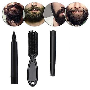 Men Beard Pencil Filler Fast Camouflage Hair Grower Waterproof Mustache Repair