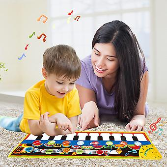 YANGFAN Upgrade Baby Musical Mats Early Education Toys Gift for Toddlers