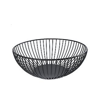 Nordic iron art storage creative basket fruit basket modern fruit tray living room household snack