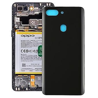 כיסוי אחורי מעוקל עבור OPPO R15 Pro (שחור)