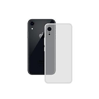 Mobiilikotelo Iphone XR Yhteystiedot TPU Läpinäkyvä