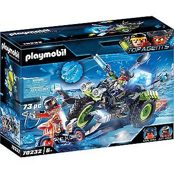 Playmobil Top Agents V Arctic Rebels Ice Trike 70232