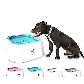 Pet Waterer, Dog Waterer, Dog Bowl, Non-wet Mouth, Splash Water(Pink)