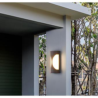 12W Warmes Licht LED im Freien wasserdichte Wandleuchte LED Außenlicht Veranda Licht