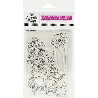 """My Favorite Things Clear Stamps 4 """"X6"""" - Rosengarten"""