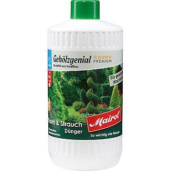 MAIROL Tree and Shrub Fertilizer Liquid, 1 liter, woody ingenious