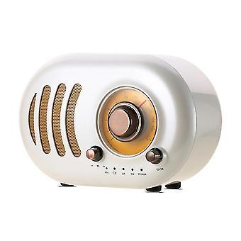 Remax Wireless Bluetooth Spekaer Bluetooth 4.2 Portable HIFI Bluetooth Speaker RB-M31 White