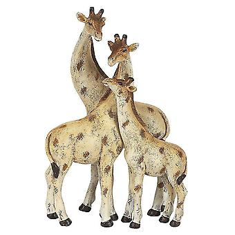 Holiday ornament displays stands giraffe family ornament