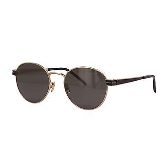 سان لوران SL M62 003 نظارات ذهبية / رمادية