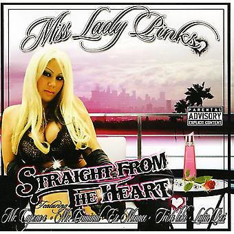 Ms. Lady Pinks - Straight From the Heart [CD] USA import