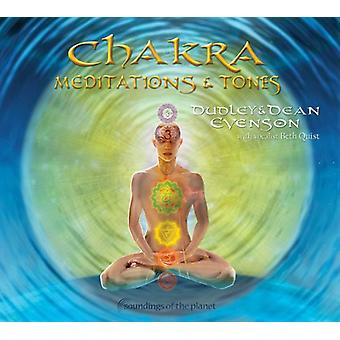Dean Evenson & Dudley - Chakra Meditations & Tones [CD] USA import