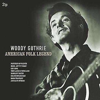 Woody Guthrie - amerikanische Folk-Legende [Vinyl] USA import