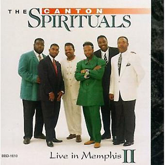 Cantão Spirituals - viver em importação EUA Memphis II [CD]