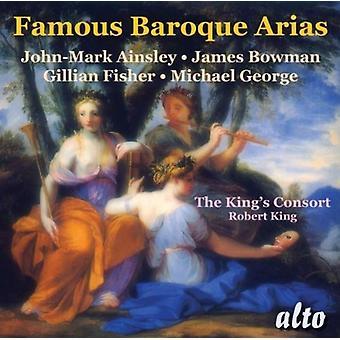 John-Mark Ainsley, Gillian Fisher, James - importation USA célèbre Baroque Arias [CD]