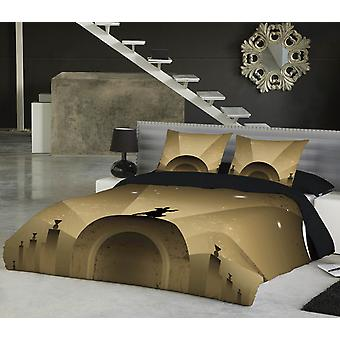 Wild star - fly me to the moon - bedspread uk superking