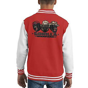 Gorilla Warfare Kid's Varsity Jacket