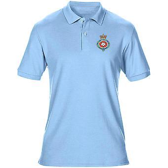 Den Royal Fusiliers Stickerei Logo - offiziellen britischen Armee Herren Poloshirt