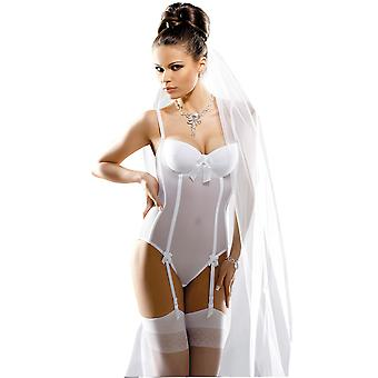 Gracya Naomi White Bridal Body GRA005