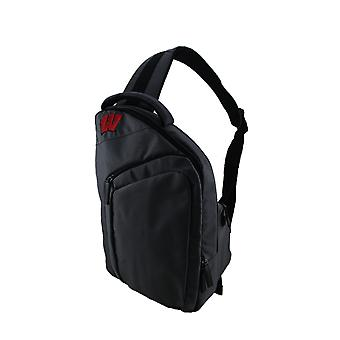 University of Wisconsin Badgers Game Changer Gray Sling Backpack