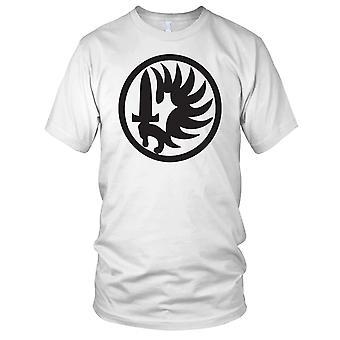 Fransk utenlandske Legion sverd Logo elitestyrker Mens T-skjorte