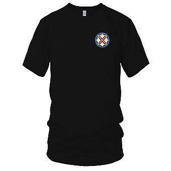 US Armee - 142. Schlachtfeld Überwachung Brigade gestickt Patch - Herren-T-Shirt