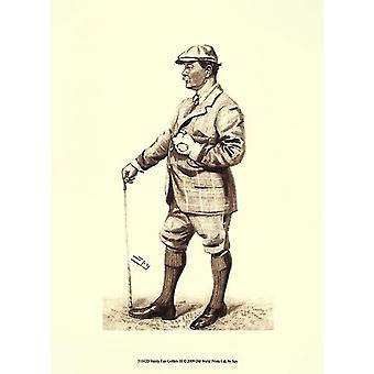 Vanity Fair Golfers III Poster Print by Spy (10 x 13)