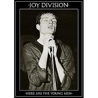Joy Division Young Men Here Are The Young Men Poster Poster Print