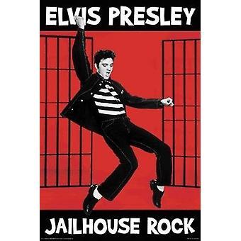 Elvis Presley - Jailhouse Rock Poster Plakat-Druck