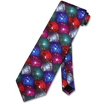 Just Balls Bowling Ball Tie NeckTie Men's Neck Tie