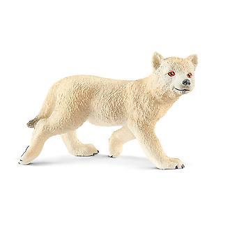 シュライヒ 14804 ワイルド ライフ - 北極のオオカミ幼いこども