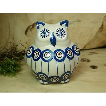 OWL, 2nd choice, 10.5 cm high, traditional 13 - polacco ceramica - BSN 22503