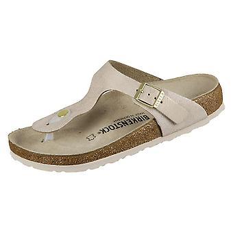 Birkenstock Gizeh 1008793 sapatos femininos universais de verão