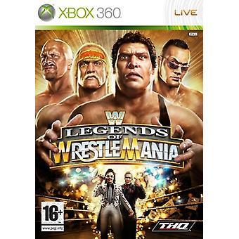 WWE Legends of WrestleMania (Xbox 360)-fabriks forseglet
